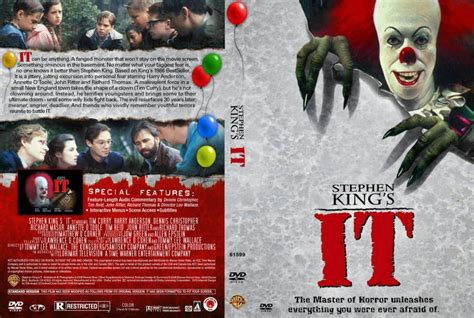 film it bluray stephen king s it movie dvd custom covers 2456stephen