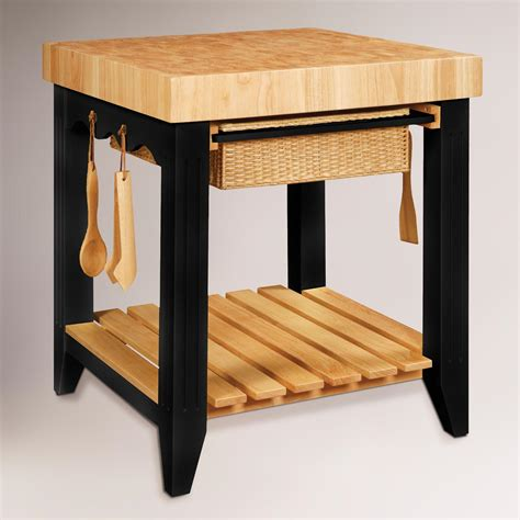 kitchen butcher block island farmhouse butcher block kitchen island world market