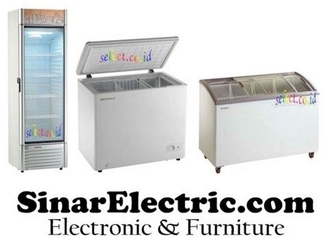 Freezer Box Polytron showcase cooler chest freezer murah dan lengkap ada di www