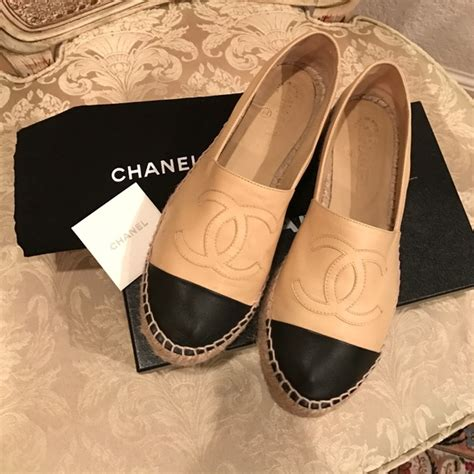 chanel flats shoes price chanel shoes espadrilles price www pixshark images