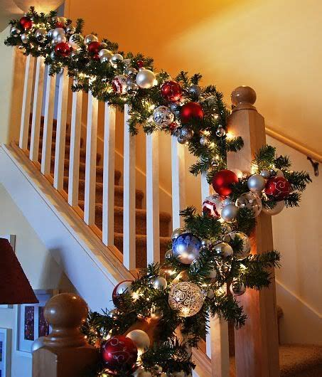 christmas decorations for banisters quot the stockings were hung quot part 1 banisters garlands
