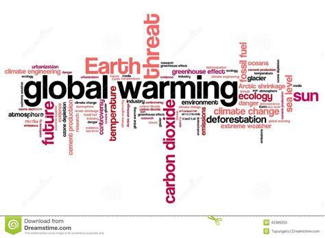 design for environment global issues global warming stock illustration image 42386255
