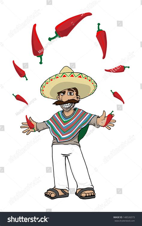 funny hot pepper images funny cartoon mexican hot peppers vector stock vector