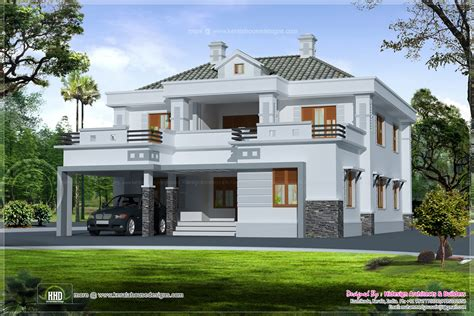 1607 sq ft luxury 3 bedroom contemporary villa home design june 2013 kerala home design and floor plans