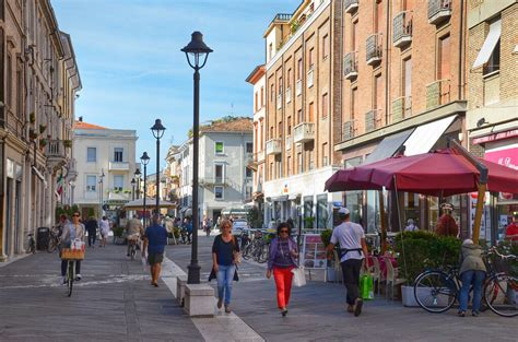Walking Through The Beautiful City of Rimini Italy