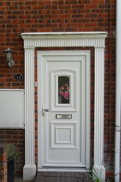 Exterior Door Surrounds Front Door Surround Fascia Garage Door Painting Painting Decorating In Birmingham