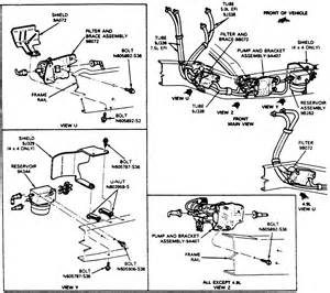 Fuel System Diagram Ford F150 89 F150 Fuel System Diagram 89 Free Engine Image For