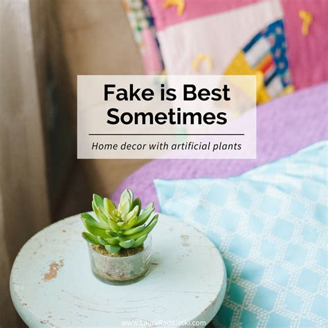 fake plants for home decor sometimes fake is best home decor with artificial plants