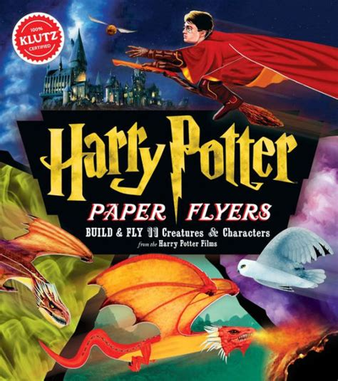 harry potter coloring books barnes and noble harry potter paper flyers 9781338106398 item barnes