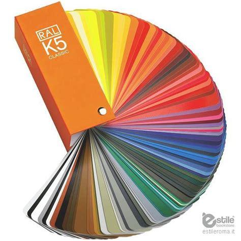 tavola colori ral cartella colori ral k5