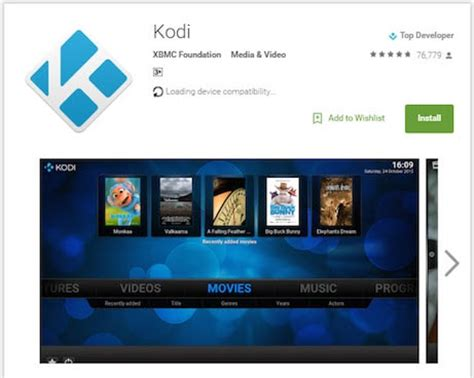 kodi apk for android smartphone