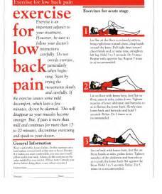 home exercise program exercise program low back office
