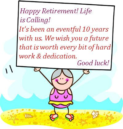 retirement wishes messages kind words for retirement