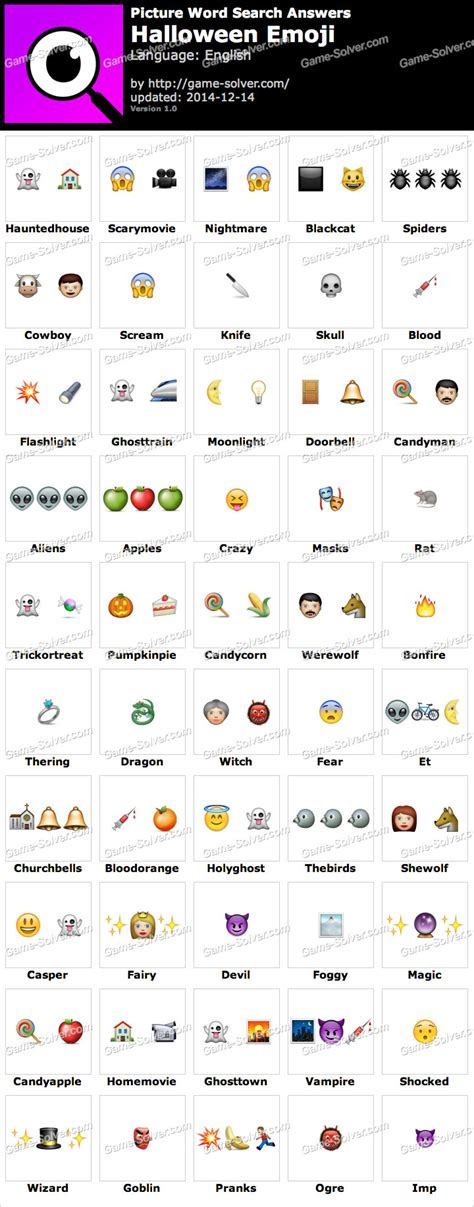 emoji word picture word search halloween emoji answers game solver