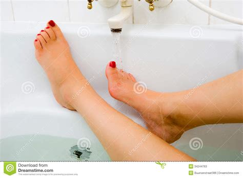 how to keep bathtub water hot hot water of bath faucet stock photos image 34244763
