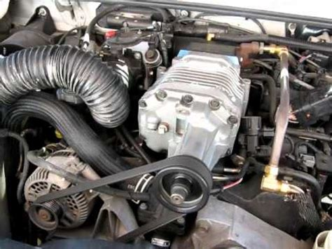 Ford Ranger Turbo Kit by 2002 Supercharged Ford Ranger