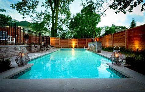 Intimate Backyard Pool Oasis