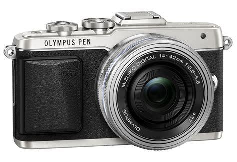 jual kamera olympus pen epl 7 pen e pl7 lensa 14 42mm ez mirrorless toko sumber bahagia