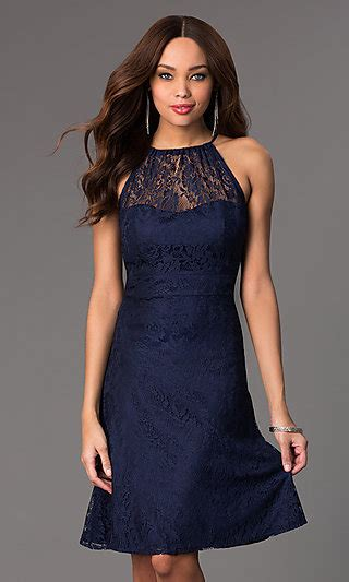 Simple Black Hoco Dress