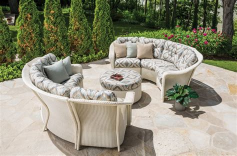outdoor furniture and furnishings couches chairs tables