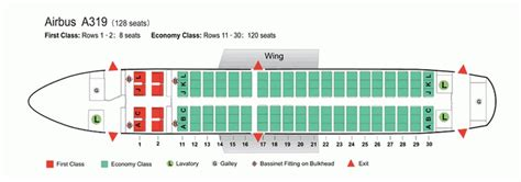 a319 seat map air china airlines airbus a319 aircraft seating chart