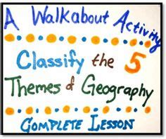 5 themes of geography bulletin board five themes of geography posters 5 posters for geography