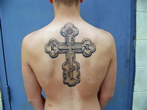 russian cross tattoo orthodox cross tattoos