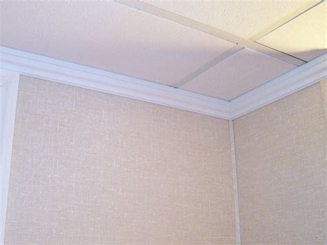 Crown Ceiling Molding by Crown Molding For A Basement Wall Ceiling Joint Images