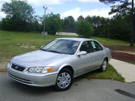 2001 Toyota Camry Ce 2001 Toyota Camry Ce Le Xle Automatic Silver Raleigh