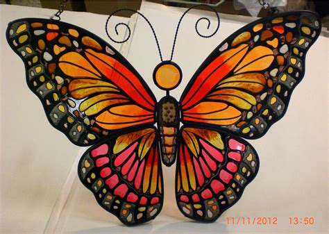 insect creations stained glass butterflies