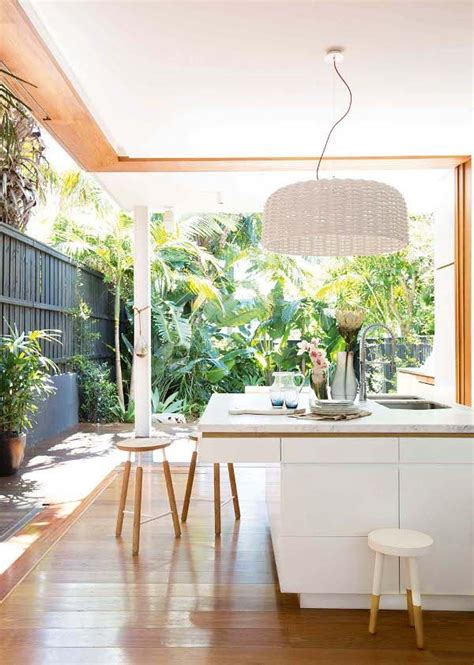 indoor into outdoor kitchen extension ideas about the garden magazine
