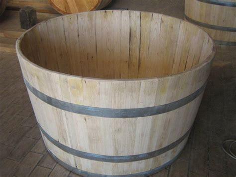 litri vasca da bagno vasca mastello botte litri 500 in castagno giardino