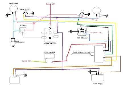 light switch wiring diagram willys cj2a light free