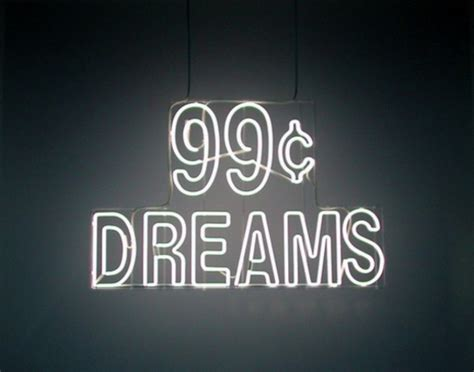 cheap light up signs home accessory 99c dreams sign light up technology