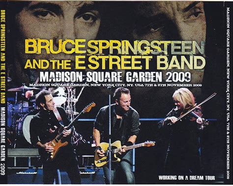 Springsteen Square Garden by Bruce Springsteen The E Band Square