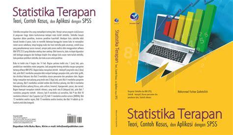 Buku Perpajakan Toeri Dan Kasus cover buku statistika terapan teori contoh kasus dan