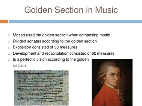 golden section music maths in everyday life