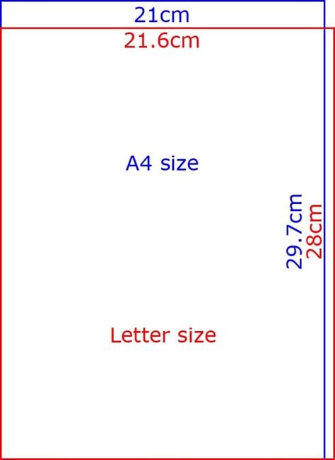 How To Make A4 Size Paper - a4 paper size in centimetres dimensions of a4 in cm