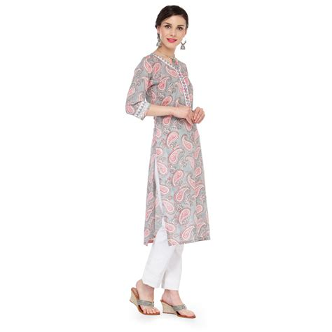 pattern making of ladies kurti paisley pattern ladies kurta jp1120