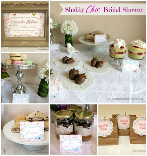 shabby chic wedding shower ideas shabby chic bridal shower