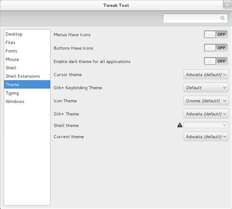 install themes with gnome tweak tool how to install gnome tweak tool on centos 7 linux forex