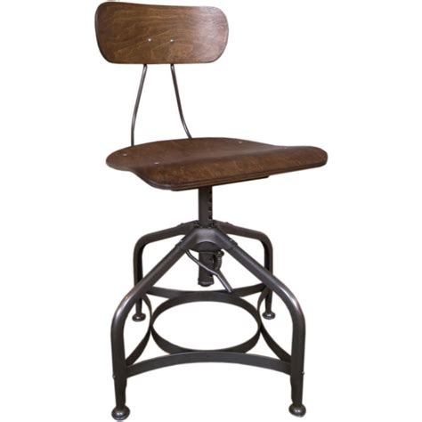 Bent Plywood Chair adjustable vintage bent plywood toledo chair at 1stdibs