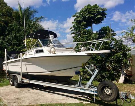 fishing boat for sale wa 2002 used angler 220 wa walkaround fishing boat for sale
