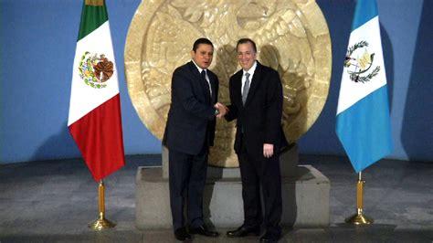 secretar a de relaciones exteriores visita ministro de relaciones exteriores de guatemala