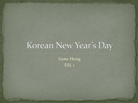 s day korean ppt korean new year s day powerpoint presentation id