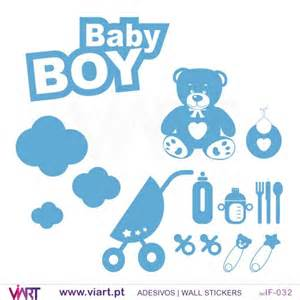 baby boy wall stickers baby boy set wall stickers baby room decoration viart