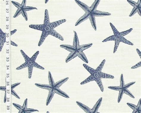 starfish upholstery fabric coral starfish upholstery fabrics new ocean decor