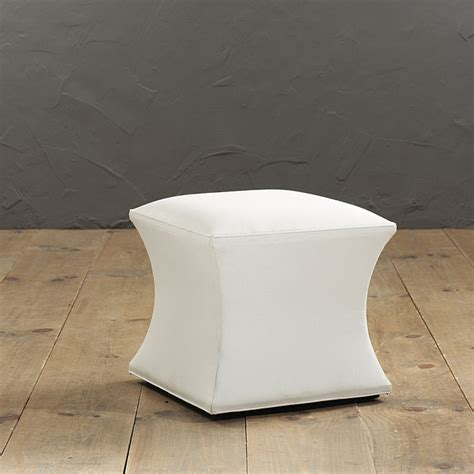 ballard ottoman courbe ottoman without nailheads ballard designs
