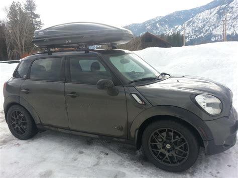 mini countryman ski rack thule aeroblade roof rack north american motoring