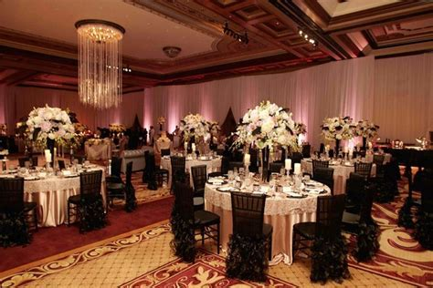Pink & Black Wedding at The Grand Del Mar in San Diego
